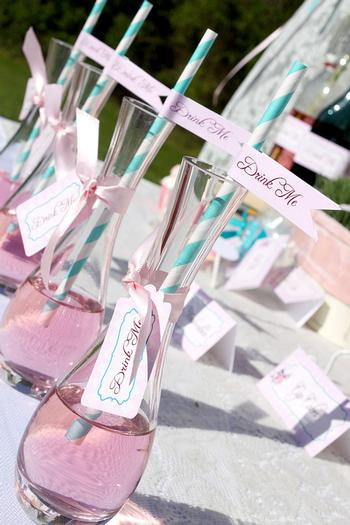 Shabby Chic Alice In Wonderland Baby Shower Ideas Themes Games